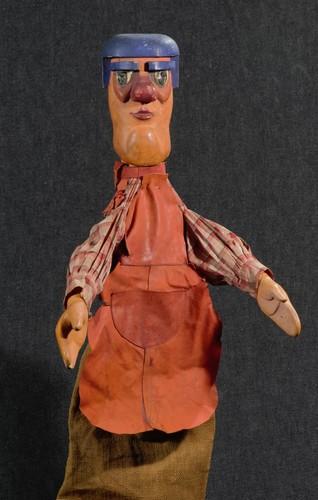 Marionnette Marcel Temporal