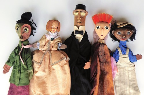 Marionnettes de spetacles Jean-Loup Temporal
