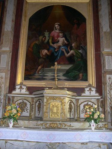"""Tableau """"La Sainte Famille"""" de Hansmann"""