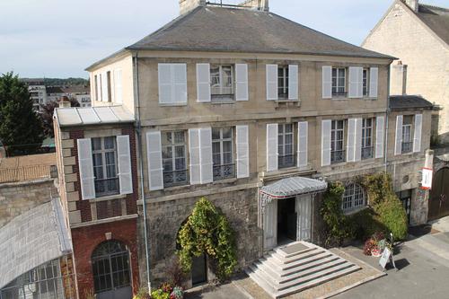 Vue du musée Gallé-Juillet