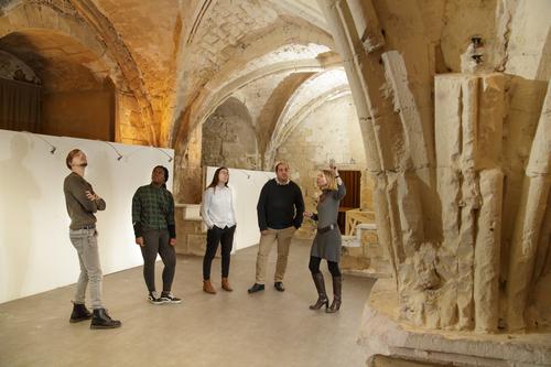 Salle médiévale du château de Creil