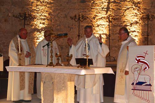 Messe de Commémoration du 900e anniversaire de la consécration de Notre-Dame de Cassan