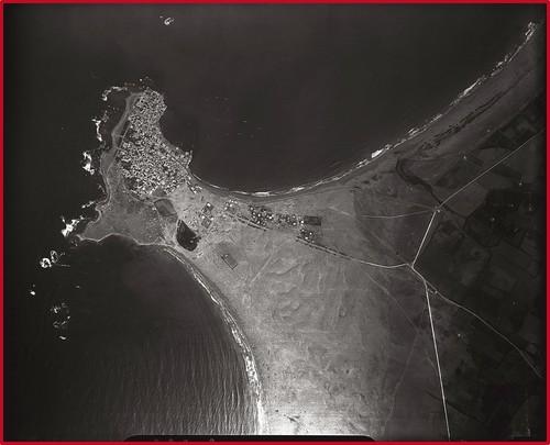 Vue aérienne de la presqu'île de Tyr