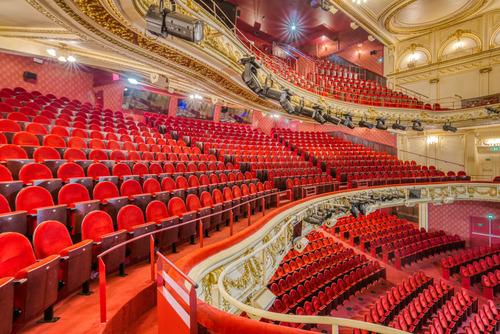 Théâtre Mogador - Intérieur haut