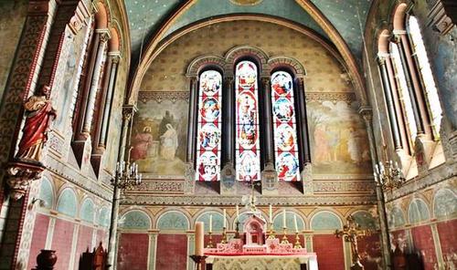 Choeur de l'église Notre-Dame