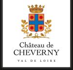 Logo cheverny chateau de la loire white