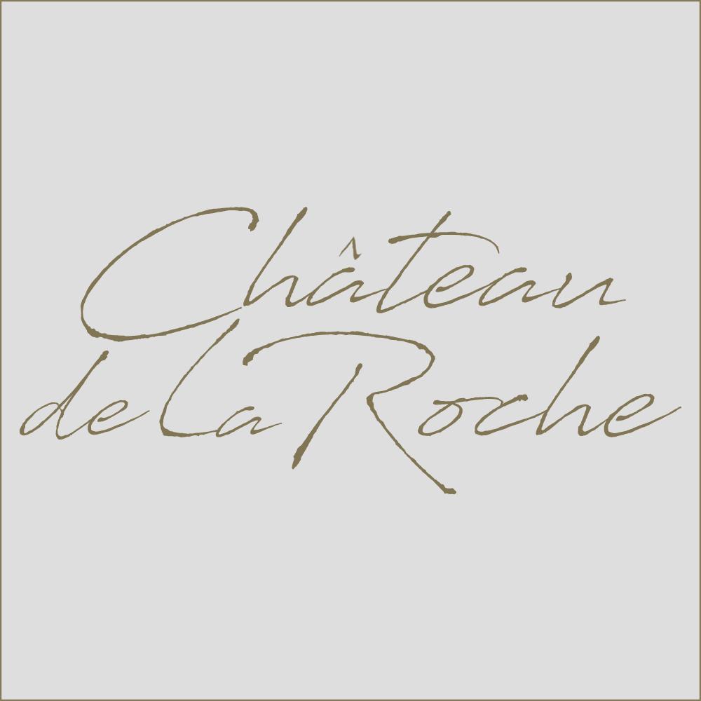 Logo chateau de la roche grafishop gris