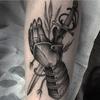 Chevalier tatouage   578 x 578
